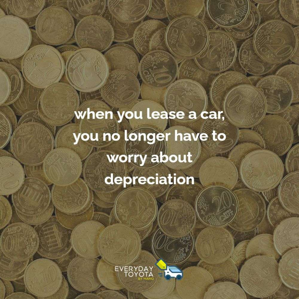 when you lease a car, you no longer have to worry about depreciation